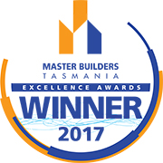 Master Builders Tasmania 2017 Award Winner