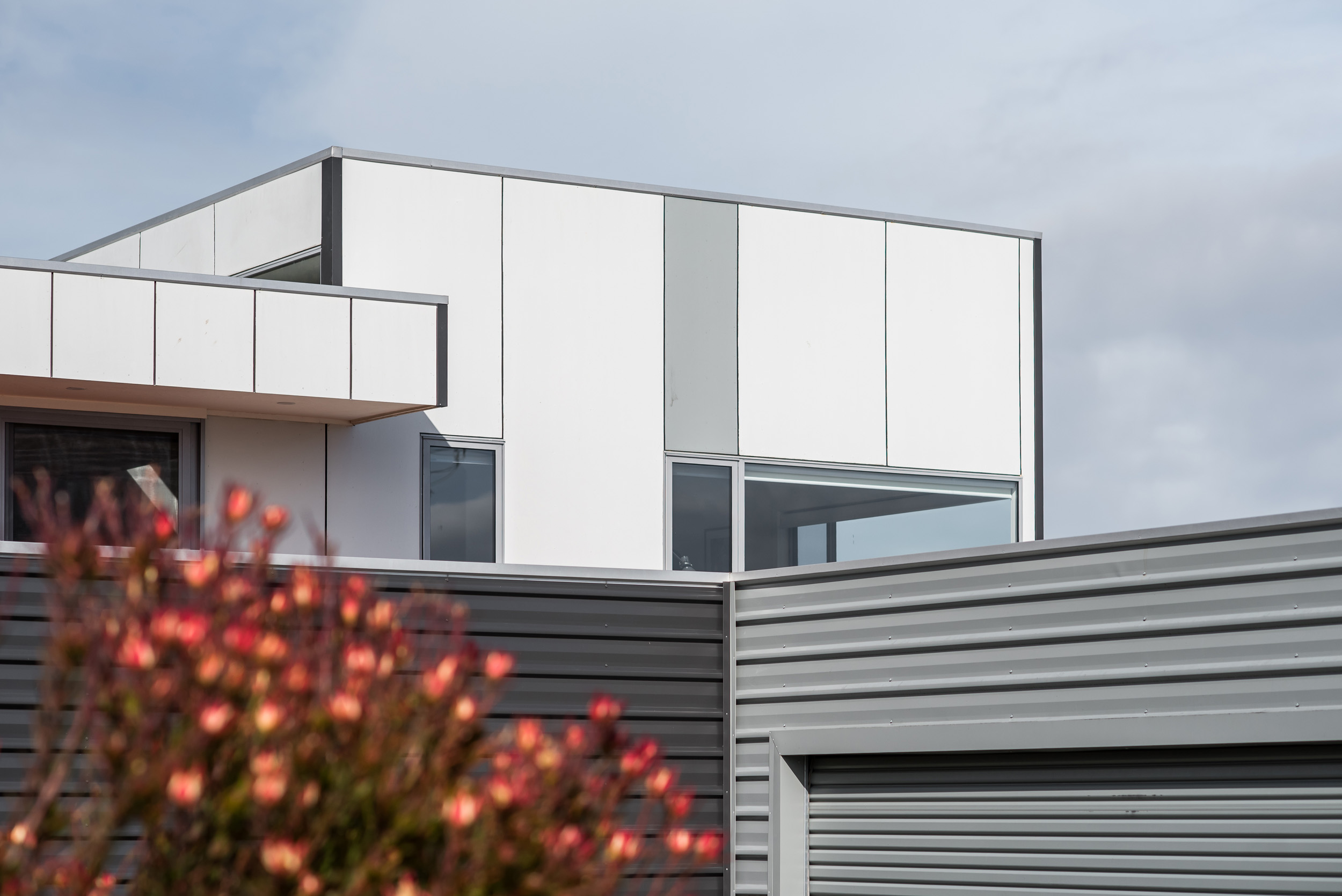 Abels House - cladding detail