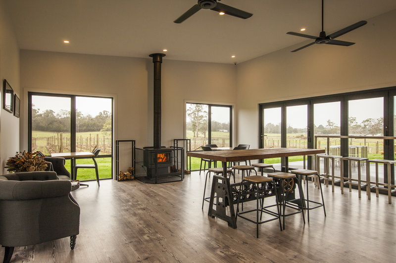 Cabbage Tree Hill dining area