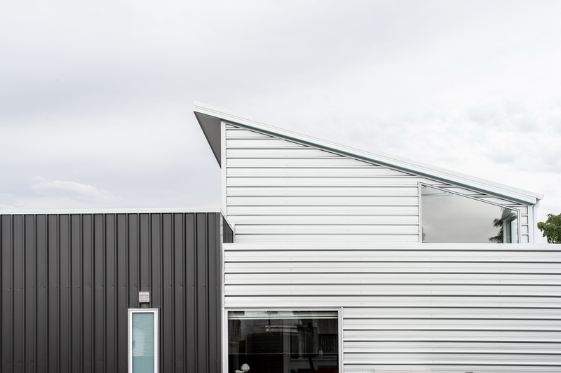 Zinc House Cladding detail